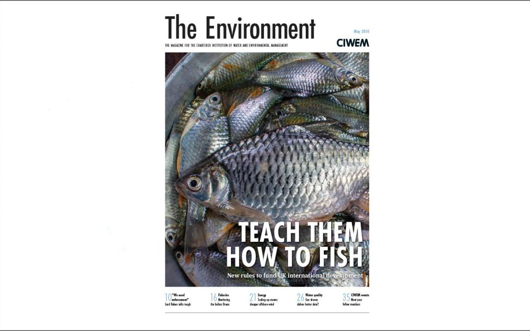 Article in 'The Environment' by Clive Adams